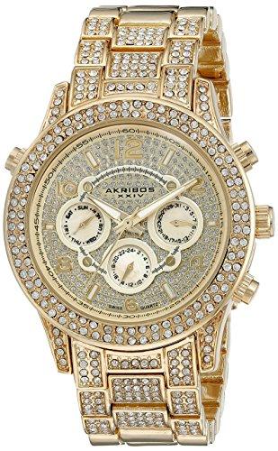 Akribos XXIV Reloj con movimiento cuarzo suizo Woman AK776YG 40 mm