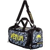 Venum Tramo Sport Bag, Black/Yellow, One Size by Venum immagine