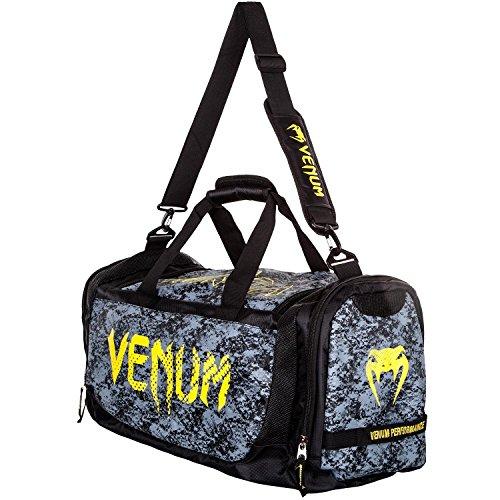 Venum Tramo Trainer Lite Sporttasche, 63 liters, Schwarz (Nero/giallo) (Dragon Venom)
