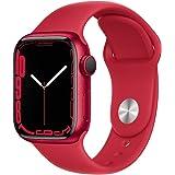 Apple Watch Series 7 (GPS, 41mm) - Aluminiumgehäuse Product(RED), Sportarmband Product(RED) - Regular