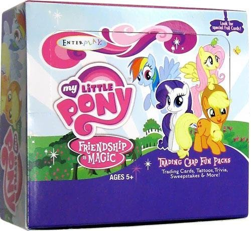 My Little Pony Trading Card Fun Pack Full Box (30 Boosters) [Toy]
