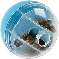 Kerbl 82667 Snackball für Katzen, Beschäftigungsball, Lern- und Denkspielzeug