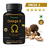 oriander 100% natural, pure & organic omega 3 extract 800 Mg 60 capsules(Pack Of 1)