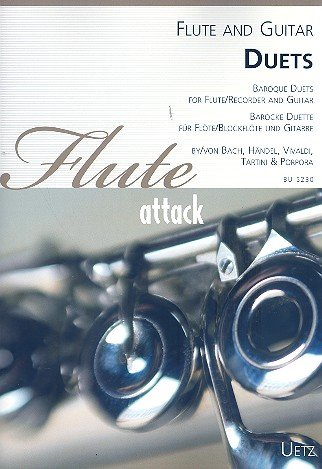 Barocke Duette für Flöte (Blockflöte) und Gitarre / Baroque Duets for Flute (Recorder) and Guitar...