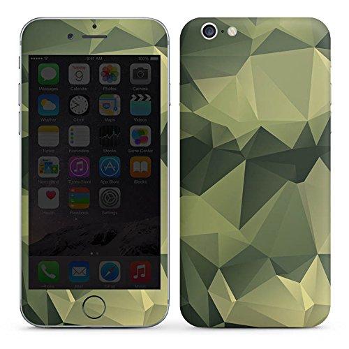 Apple iPhone 6 Folie Skin Sticker aus Vinyl-Folie Aufkleber Camouflage Muster Tarnfarben