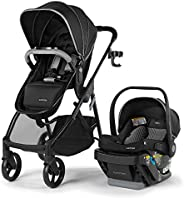 Summer Infant Myria Travel system with modular Stroller, Affirm 335 rear facing infant car seat,steeloc Base,