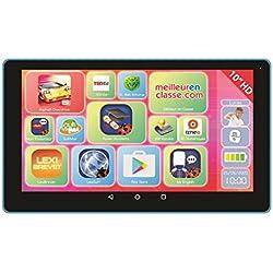 """LexiTab 10"""" - Tablette tactile enfant, contenu éducatif et ludique, contrôle parental - Android, Wi-Fi, Bluetooth, Google Play, YouTube - Ref. MFC512"""