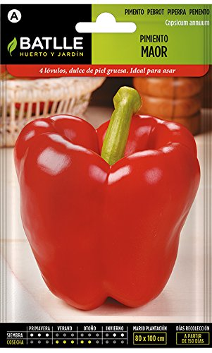 Batlle Gemüsesamen - Paprika Maor (225 Samen)