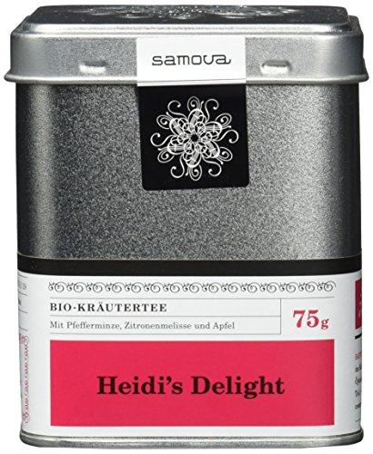 Apfel-minze-kraut (Samova Heidi's Delight - Schweizer Bio-Kräuter 75g, 1er Pack (1 x 75 g))