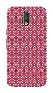 HACHI Premium Printed Cool Case Mobile Cover for Motorola Moto G4