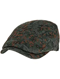 0f4f78b13b3d9 WITHMOONS Sombreros Gorras Boinas Bombines Mens Flat Cap Camouflage  Vertical Stitch Ivy Hat LD3438