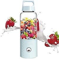 Umiwe Licuadora portátil, 500 ml USB Juicer Cup, fruta, batido, mezcla de