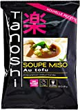Tanoshi Soupe Miso Tofu 60,9g - Lot de 5