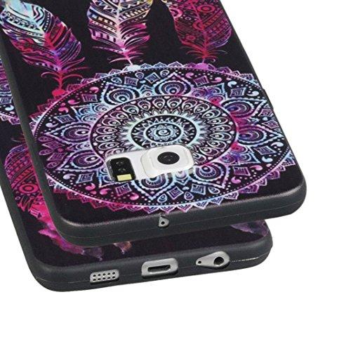 iPhone 5s Cover suave,Asnlove Custodia TPU Gel Silicone Protettivo Skin Custodia Protettiva Shell Case Cover per Apple iPhone 5s/5 SE Caso-Acchiapasogni color-1