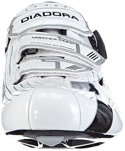 Diadora VORTEX- COMP, Scarpe da ciclismo donna Bianco (weiß/schwarz 3510)