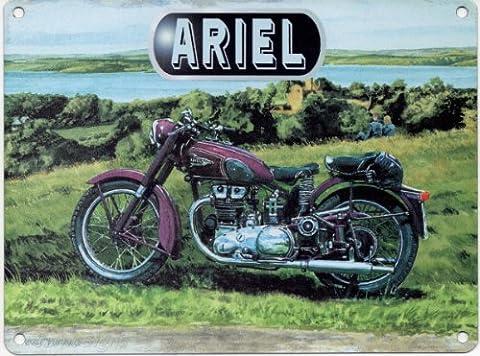 Trevor Mitchell Ariel Metal Sign Nostalgic Vintage Retro Advertising Enamel Wall Plaque 200mm x 150mm by Original Metal Sign Co