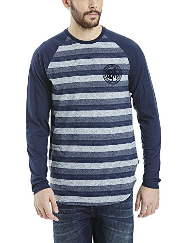 Bench Herren T-Shirt Bachelor Blau (Dark Navy Blue NY031)