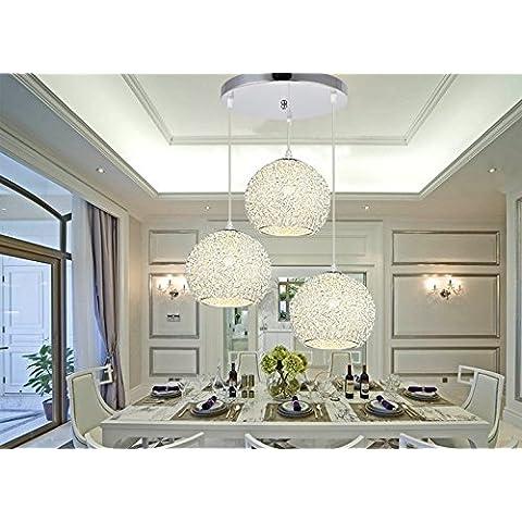 Fei & S Moderno ed elegante lampadario a sospensione design e cristallo trasparente Perline da soffitto, con miglior servizio DY1012-3 disc
