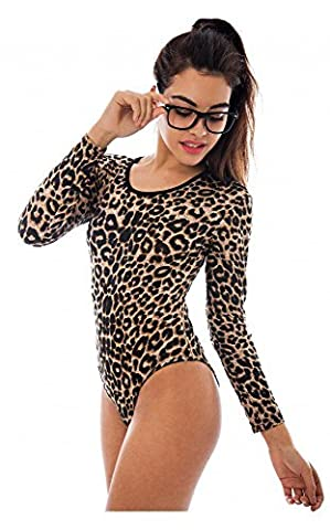 Comfiestyle - Body - Body - Manches Longues - Femme - marron - 44