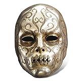 Harry Potter - máscara de Bellatrix Lestrange - mortífaga - gris
