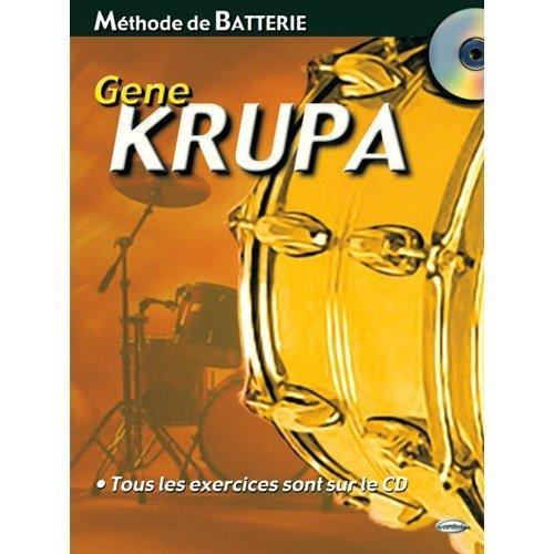 Methode de Batterie + CD par Krupa Gene