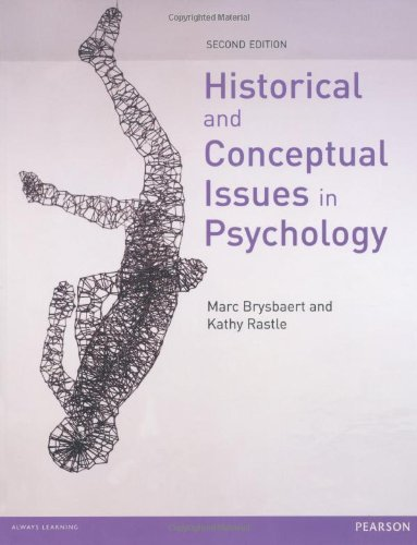 Historical and Conceptual Issues in Psychology by Brysbaert, Prof Marc (2012) Paperback