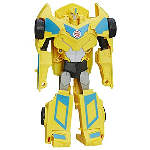 Transformers : Robots in Disguise – Bumblebee – Figurine Transformable en 3 Etapes