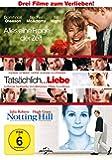 Alles eine Frage der Zeit / Tatsächlich ... Liebe / Notting Hill [3 DVDs]