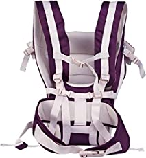 Chhote Saheb Baby Carrier Shoulder Belt Sling Backpack Baby Holding Strap Adjustable Carry Bag Baby Carrier  (Purple, Front Carry Facing Out)
