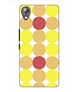 Snazzy Printed Multicolor Hard Back Cover For Lenovo P70