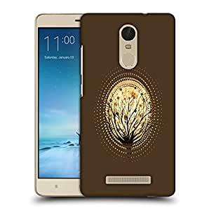 Snoogg Abstract Small Plant Designer Protective Back Case Cover For REDMI NOTE 3