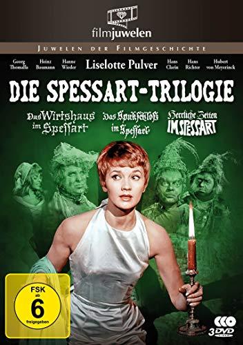 Die Spessart-Trilogie: Alle 3 Spessart-Komödien mit Lilo Pulver (Filmjuwelen) [3 DVDs]