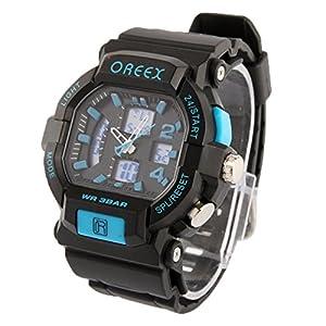 SUNSKY Reloj digital de la exhibición reloj digital / reloj del deporte ( Color : Blue ) marca SUNSKY
