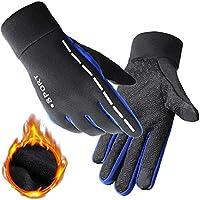 Yiwu Yonger EU Touchscreen Winter Handschuhe, Dick Warm Voller Finger Reflektierend Outdoor Sport - Laufen Fahrrad Motorrad Bergsteigen Handschuhe