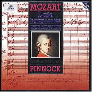 Späte Sinfonien 31-36,38-41
