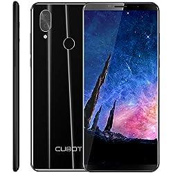 CUBOT X19 Smartphone 4G Dual SIM, Télephone Portable débloqué FHD 5,93 Pouces (18:9) 4000mAh Batterie Android 9.0, 4Go-64Go (Extensible à 128Go) Double Camera 16MP+2MP/ 8MP Identité faciale,Noir