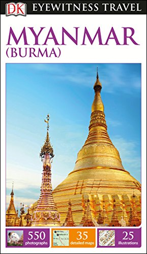 DK Eyewitness Travel Guide Myanmar (Burma) Cover Image