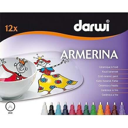 figuras kawaii porcelana fria Armerina Darwi - Marcadores de cerámica, rotuladores, multicolor