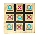 Lotus Wooden Tic Tac Toe