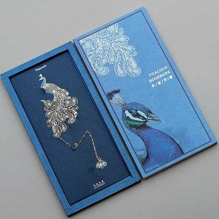 Segnalibro Stile Cinese, Segnalibro Arte Metallo Creativo Retrò Nappa K