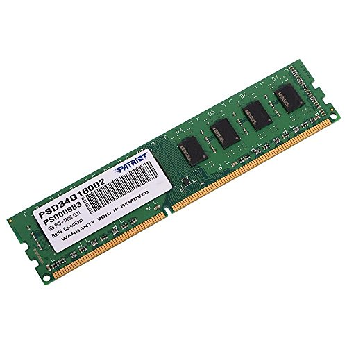 DDR3 4 GB 1600MHZ Patriot Signature 256X8 CL11