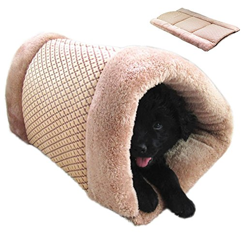 GossipBoy Pet Bed Schlafsack und Matte–kuschelig selbst beheizt–waschbar bequeme House für Kätzchen, Katzen, Hunde und Welpen–Get the Warm Cozy & bequem Unterschlupf für Ihr Tier