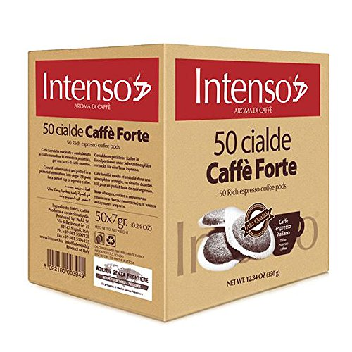 Intenso Forte Espresso ESE Pads / Cialde / Servings, 50 Pads