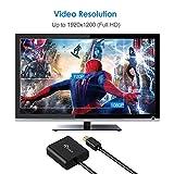 Rankie Mini DisplayPort (Mini DP) to DVI Adapter, Thunderbolt Port Compatible, 1080P Full HD, Black
