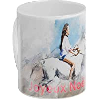 Personnalisez avec Votre Photo et Texte Un mug Cadeau cocooning Blanc