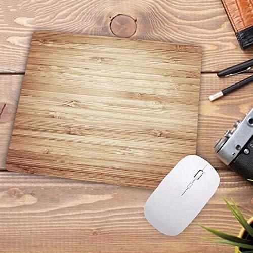 LIUCH MauspadHelle Farbe Holz Textur Große Gaming Mouse Pad Lock Edge Mauspad für Laptop Computer Tastatur Pad Schreibtisch Pad für Dota, 350X600X2MM