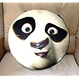 BERRY Brand New Panda Animal Face Print Pillow Decorative Cushion Pillow Case Customize Gift By Lvsure For Cushion Seat