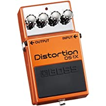 Boss Distortion DS-1X 415401C99 – Pedal de efectos para guitarra, distorsión