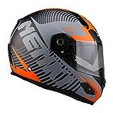 Dabobo Motorradhelm Integralhelm Motorcycle Helmet Fiberglas Street Moto Touring Motorradrennen...