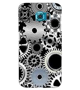 ColourCraft Clock Locks Design Back Case Cover for SAMSUNG GALAXY S6